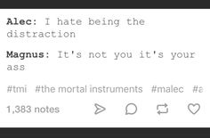 Being the distraction ... shadowhunters, alexander 'alec' lightwood, magnus bane, the mortal instruments, malec