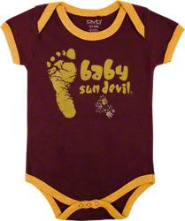 Arizona State Sun Devils Infant Maroon Construction Site Creeper