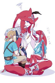 Sidon will always be Mipha cute little brother, to his embarrassment! | Legend of Zelda Breath of the Wild