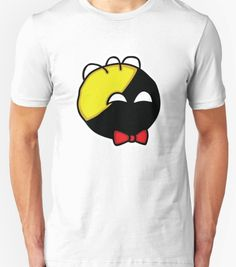 Ancap ball with bowtie T-shirt available at our libertopia store! See: https://www.redbubble.com/people/lewisliberman #ancap #anarchocapitalism #voluntaryist #voluntaryism #libertarian #libertarianism #wearableart #tshirt #ancapball #ancapman