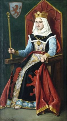 The Empress of All the Spains: Urraca of León and Castile, born in April 1079 to Alfonso VI of León and Castile and his second wife Constance of Burgundy.