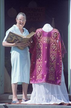 Joan Maclaurin is surrounded by historic religious items, 22 Jan The Daily Telegraph (closed gifted by The Daily Telegraph, collection of Hawke's Bay Museums Trust, Ruawharo Tā-ū-rangi, The Daily Telegraph, Museums, Trust, Art Gallery, Lens, Collection, Fashion, Moda, Art Museum