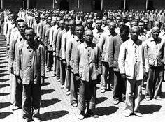 Prisioneros del franquismo.