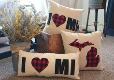 Home Sweet Michigan - Home Sweet Michigan - Michigan Pillows & More