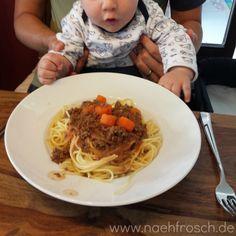Nähfrosch Baby  Babybrei Kochen für Baby Ernährung Pleiten Pech und Pannen Hunger