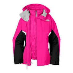 791b5143737 Girl s Boundary Triclimate Jacket North Face Girls