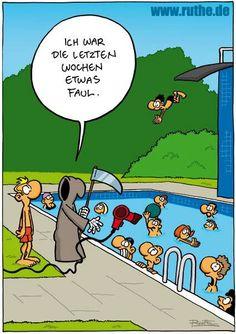 Sehr lustiger #cartoon von Ralph #Ruthe