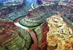 9 impresionantes fotografías de lugares donde se juntan diferentes cuerpos de agua.