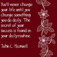 John Maxwell quote I try and live by this quote, it's a favorite of mine!!