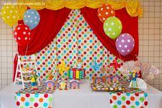 lembrancinha da festa do circo - Pesquisa Google