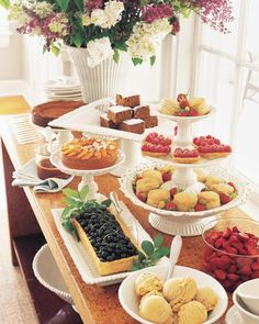 New Breakfast Buffet Martha Stewart 24 Ideas Wedding Buffet Food, Party Food Buffet, Brunch Buffet, Breakfast Buffet, Dessert Buffet, Birthday Brunch, Brunch Party, Birthday Cake, Chocolate Truffle Cake