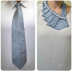 Возвращаем жизнь старому галстуку.