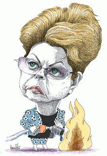 Dilma Rousseff - Pancho Cajas