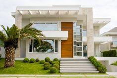 12 Fachadas de casas/sobrados maravilhosas por Robson Nascimento! - DecorSalteado
