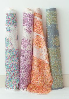 we have all these gorgeous Nani Iro fabrics in store