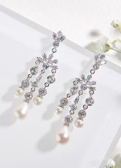 00c11c323 387 Best EARRINGS images in 2019 | Bridal accessories, Bridal ...