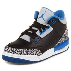 69b533b4864009 AIr Jordan 3 Retro BG 65Y Sport Blue 398614 007  gt  gt  gt
