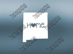 New Mexico Home State Svg Dxf Pdf Jpg Cut File  by TheDesignsShop