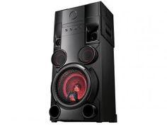 Mini System LG X Boom Festa Bluetooth CD Player - Rádio AM/FM 500W USB MP3 Karaokê OM5560