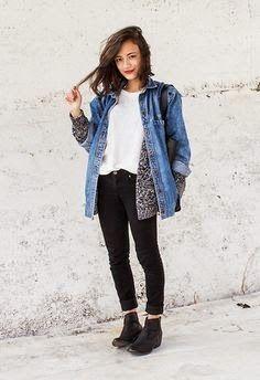 omg I like her jacket