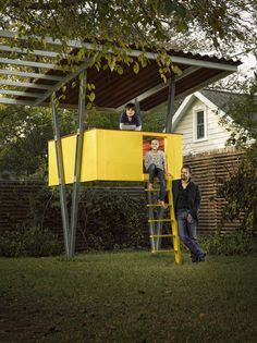 Floating Playscape & Arbor - modern - kids -tree house