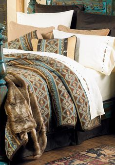 Saddle ridge quilt bedding collection