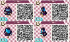 Enma Aï Hellgirl Jigoku Shojo Kimono Animal Crossing New Leaf QR Code