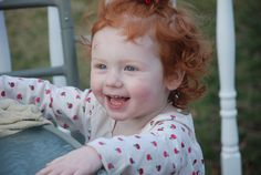 I look forward to having a little redhead baby someday :) !!