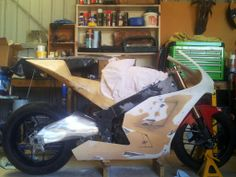 Current Kawasaki ZX-7R based ZX-RR800 MotoGP replica...more to come...