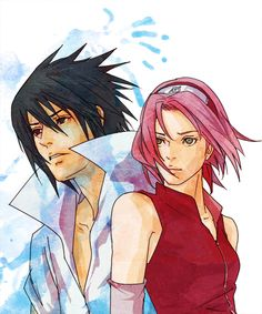 Sasuke & Sakura - A tale of one-sided love.