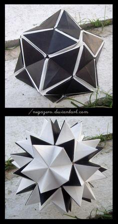 O QUE É MEU É NOSSO: _Origami com Movimento