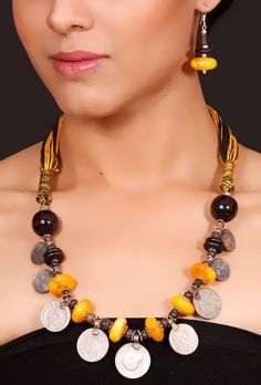 Oxidized hand crafted jewelry by Nnazaquat.