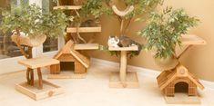 Cat Tree Houses