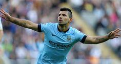 """Sergio """"Kun"""" Agüero logra doblete en victoria del Man City ante Crystal Palace"""