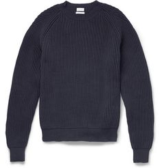 Paul SmithRibbed Cotton-Blend Sweater