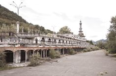 long abandoned resort