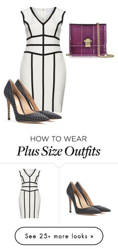 """""""Untitled #1554"""" by ladiistaff on Polyvore featuring Gina Bacconi, Gianvito Rossi and Roberto Cavalli"""