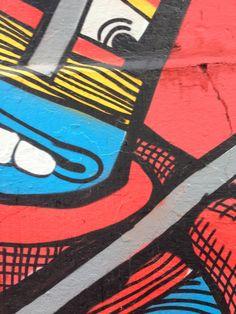 Referência de cor e textura - Graffite RMI - Vila Madalena