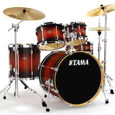 Tama Drums   Satin Cherry Burst  Model: LS52K-SCY
