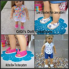 Check out the tutorials! - GiGi's Doll and Craft Creations: 18 inch Doll Sandal Tutorial - DIY