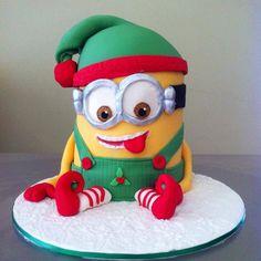 Cheeky Elf Minion Mash Up perfect for christmas