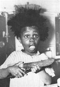 BUCKWHEAT from the Little Rascals