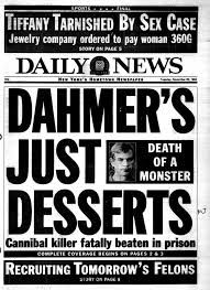 Jeffrey Dahmer was a serial killer who murdered 17 men during in the US. Read about his crimes, capture, trial and murder. Newspaper Front Pages, Newspaper Article, Old Newspaper, Criminal Profiling, Jeffrey Dahmer, True Crime Books, Newspaper Headlines, Criminology, Interesting History