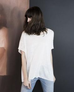 Le Tee shirt Marlow de Margaux Lonnberg. Un incontournable basic !