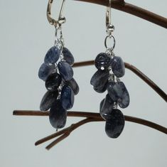 Check out this item in my Etsy shop https://www.etsy.com/listing/88302258/blue-adventurine-cluster-earrings