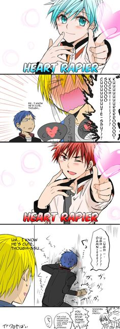 Both Kuroko and Kagami make them insane.