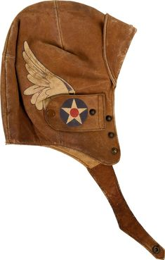 """Belonged to WWI air serviceman, stunt pilot, and barnstormer Ormer Leslie Locklear - """"King of the Wing Walkers."""" Explains the wings on Captain America's costume that I've always been curious about."""