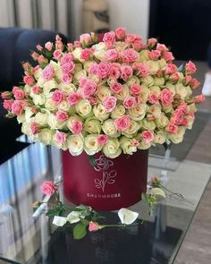 Very Beautiful Flowers, Beautiful Flower Arrangements, Floral Arrangements, Bouquet Box, Happy Birthday Flower, Mary Birthday, Corporate Flowers, Luxury Flowers, Flower Phone Wallpaper