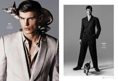 Models with Cats: Chad White, Garrett Neff, RJ Rogenski + More for Out image Models with Cats photo 002 800x554