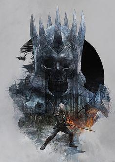 The Witcher 3 / Steelbooks by Krzysztof Domaradzki